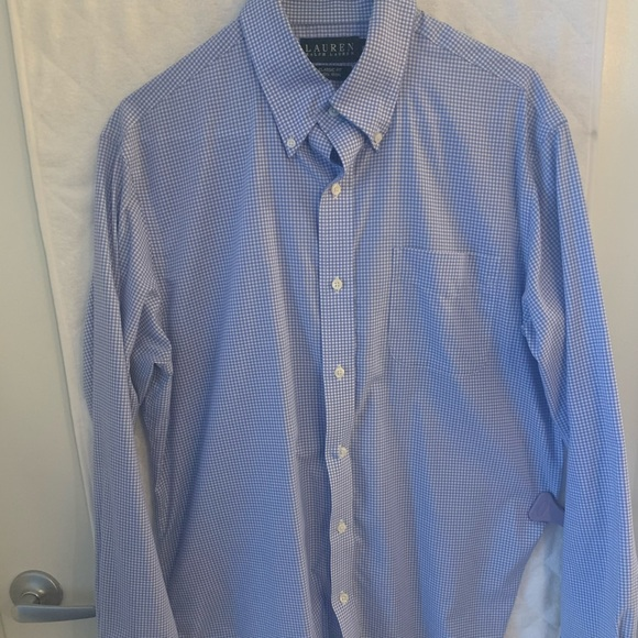 OLIVER SWEENEY Men/'s Dark Blue Cotton Check Long Sleeve Shirt Size XXL NEW